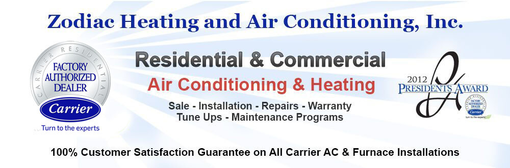 Carrier AC Heating Installation