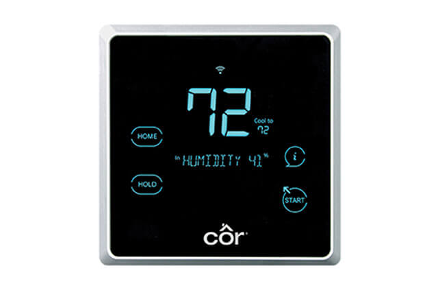 Edge Programmable Thermostat Installation